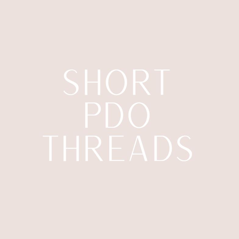 Short PDO threads